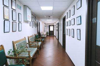 Интерьер медицинского центра Конфиденс